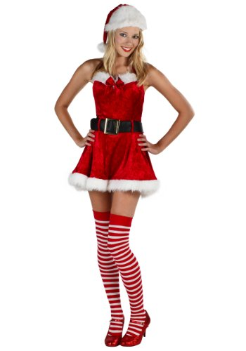 Plus Size Sexy Mrs Claus Costume 4X - Plus Size Sexy Mrs Claus Costumes