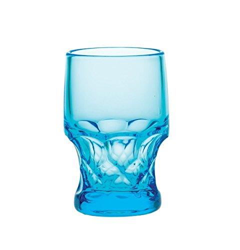 attern - Mosser Glass USA (12 oz, Blue) (Georgian Pattern)