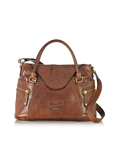 The Bridge Borsa A Mano Donna 463400114 Pelle Marrone