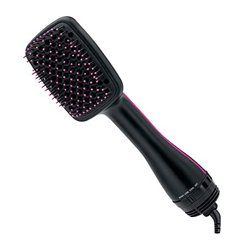 - 41hMWwilXyL - Revlon One-Step Hair Dryer and Styler, Black