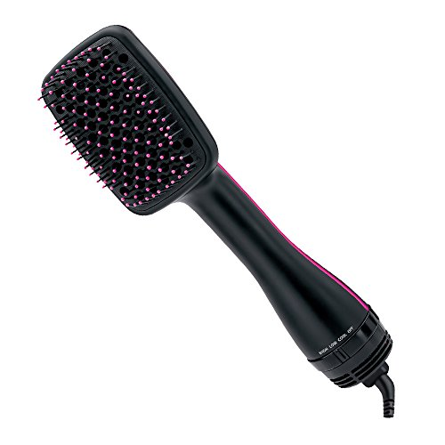 Revlon One-Step Hair Dryer & Styler, Black (Best Paddle Brush For Blow Drying)