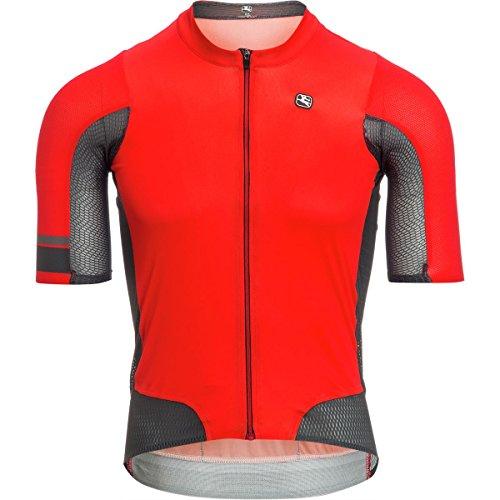 Giordana NX-G Air Road Bike Jersey - Men's Red/Black, XL