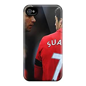 Awesome Design The Player Number 7 Of Liverpool Luis Suarez Hard Case Cover For Iphone 4/4s
