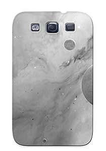 Fashion Protective Grey Cosmos Case Cover For Galaxy S3