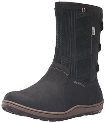 Amazon.com   Merrell Women's Ashland Vee Mid Waterproof-W