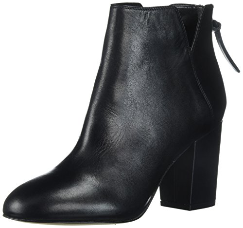 Aldo Women's Dominicaa Ankle Bootie, Black Leather, 8.5 B (Aldo Black Leather)