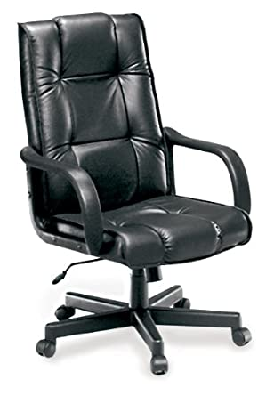 OFM Executive Leather Chair   High Back Conference Chair, Black (520 L