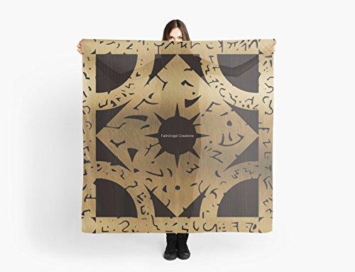 [Hellraiser Lament Configuration Side F Multi-Purpose Scarf, Shawl, Wrap, Table Cloth] (Hellraiser Woman Costume)