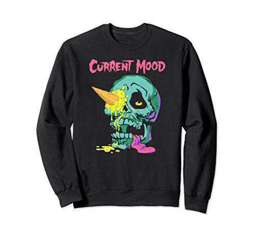 Shane Dawson Current Mood Ice Cream Skull Sweatshirt