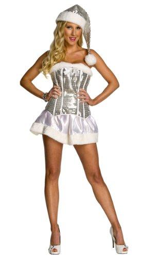 [Rubie's Costume Women's Winter Wonderland Dress, White, X-Small] (New Year Costumes)