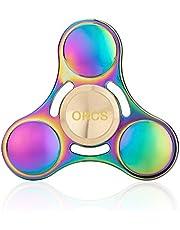 OKCS Fidget spinner, speelgoed, tri-spinner, stressoplosser, concentratie, rond design, regenboog