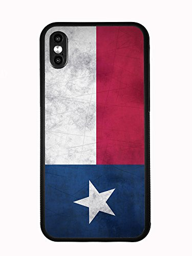 (Texas Grunge Flag for iPhone Xs MAX 6.5 2018 Case Cover by Atomic Market)