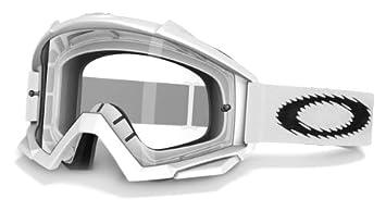 4d3b57b68c90d Oakley Proven MX Lunettes de soleil masque vélo ou moto Matte White Clear