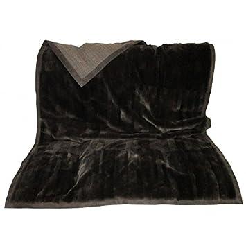 67bf77c6357 Shop-Artigian-Pelle Luxury Cloe-Plaid 100% Cachemire doppiato Fourrure avec  Bord