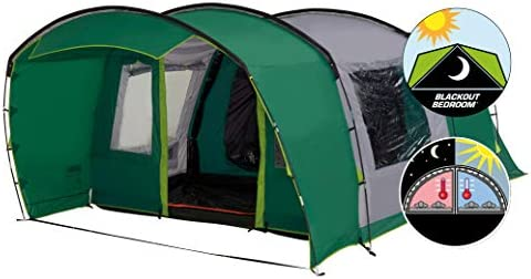 Coleman tunneltent Rocky Mountain 5 Plus XL 310 x 510 x 195