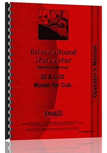 Farmall Tractor 22 Sickle Bar Mower Operators Manual (IH-O-MWRCUB22)