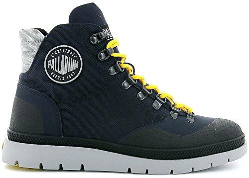 Mid Black Pallasider Indigo Blau Palladium Boots Multicolore Uomo Hiker qxOzxZwgt