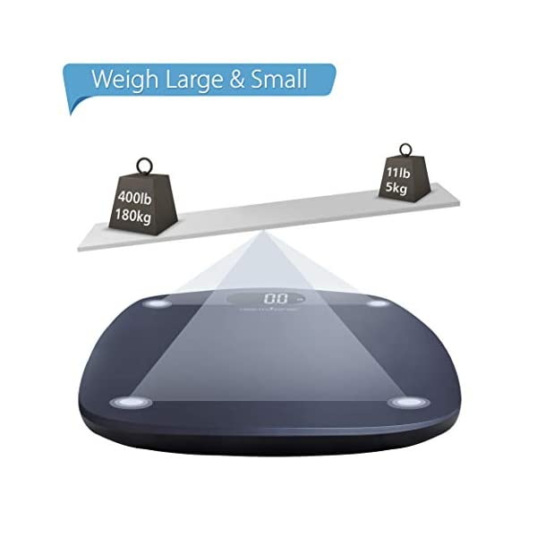 Body Weighing Scale   Strong ABS Build(Battery Included)