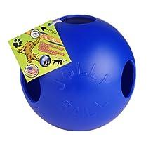 Jolly Pet 10-Inch Teaser Ball, Blue