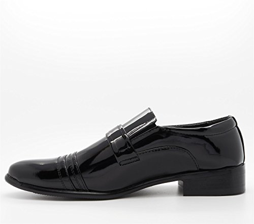 Londont Footwear Windsor - Zapatos para hombre negro