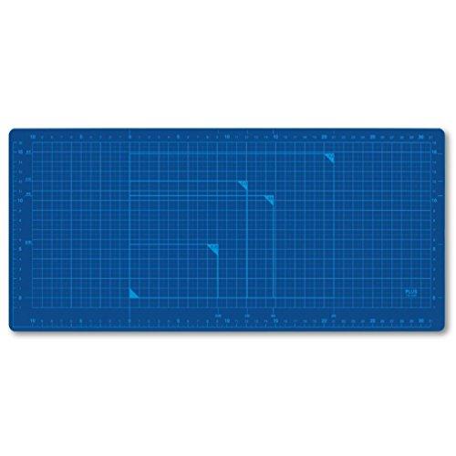 Plus cutting mat wide size Blue CS-A4W BL 48-575 (japan import)