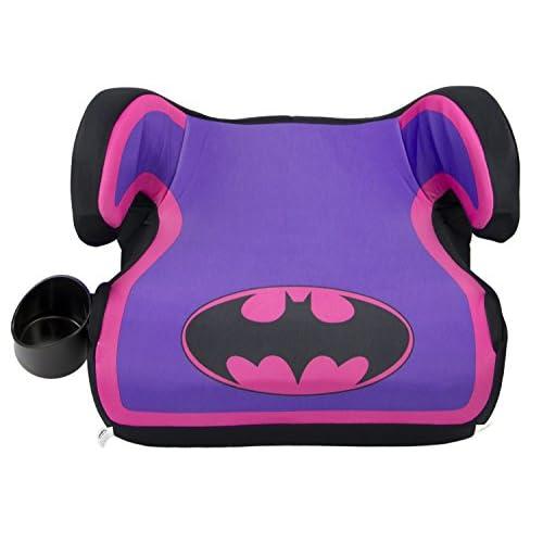 WB KidsEmbrace Belt Positioning  Backless Booster Car Seat, Batgirl