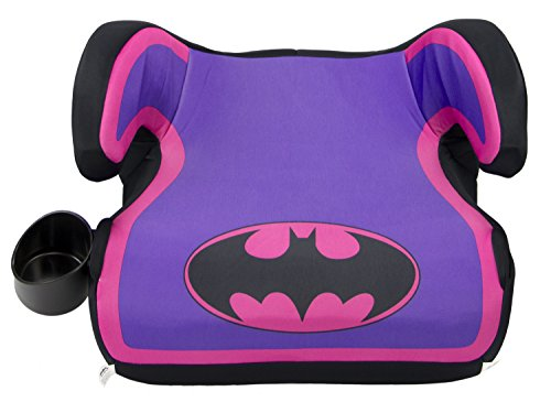 (KidsEmbrace Booster Car Seat, Backless, DC Comics Batgirl)