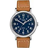 Timex Men's Weekender 2-Piece 40mm Leather Strap |Tan| Casual Watch TW2R42500