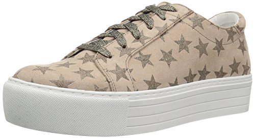 Kenneth Cole REACTION Women's Cheer-y Platform Lace Up Sneaker, Taupe, 9.5 Medium US