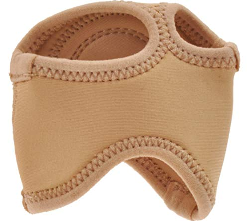 Sandal Half Sole - Danshuz Womens Tan Neoprene Ballet Slip On Half Sole