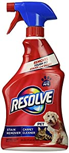 9. Resolve – Pet Expert Carpet & Upholstery Cleaner, 22 fl oz.