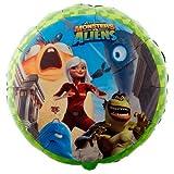 """Monsters vs Aliens 18"""" Mylar Balloon"""