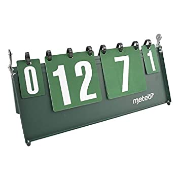 Sports Tableau Scoreboard D Affichage Portable Chiffres Flip Tableau