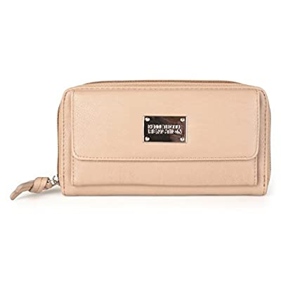 Kenneth Cole Reaction Womens Napa Zip-Around Urban Organizer Wallet