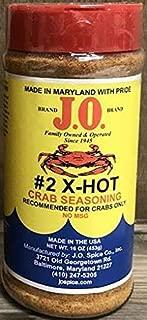 product image for J.O. #2 X-Hot Crab Seasoning 16 OZ