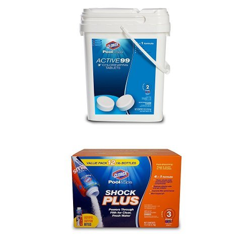 Clorox Pool&Spa Large Pool Early Season Shock and Tab Bundle by CLOROX