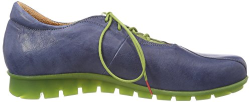 Think! Women's Menscha_282074 Derbys, Blue Blue (Jeans/Kombi 84)