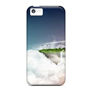 Brand New 5c Defender Case For Iphone (flying Island)