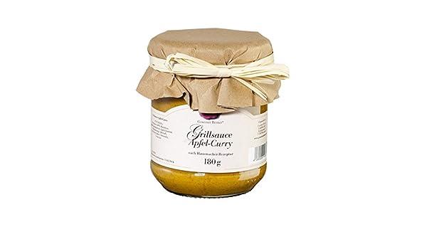 Gourmet Berner Barbacoa Salsa manzana de curry 180 g: Amazon.es: Alimentación y bebidas