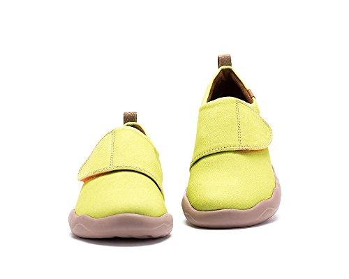 UIN Le soleil Chaussures de toiles casual età la mode jaune pour enfant (adolescent)