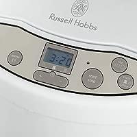 Russell Hobbs Classics - Panificadora (660 W, Digital, 12 Funciones, Capacidad de 1kg, Blanco) - ref. 18036-56