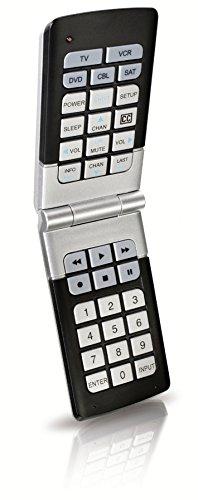 Philips SRU4050/17 Universal Compact Remote (Silver/Black...