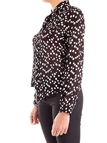 Black In Fantasia Gergette Rain Pepe Drops Camicia Donna Pois Patrizia F7vw6qxUgy