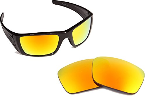 New SEEK OPTICS Replacement Lenses Oakley FUEL CELL - - Mirrored Fuel Lenses Oakley Cell