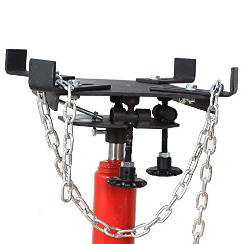 TRIL GEAR 0.5 Ton Trolley Transmission Jack Adapter for all Floor Jack with Saddle Hole