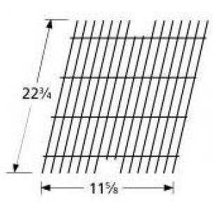 (Music City Metals 54901 Porcelain Steel Wire Cooking Grid Replacement for Select Viking Gas Grill Models)