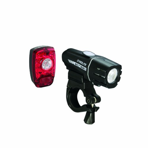 Cygolite Streak 280 Lumen Headlight/Hotshot SL 2W Tail Light USB Rechargeable Bicycle Light Set