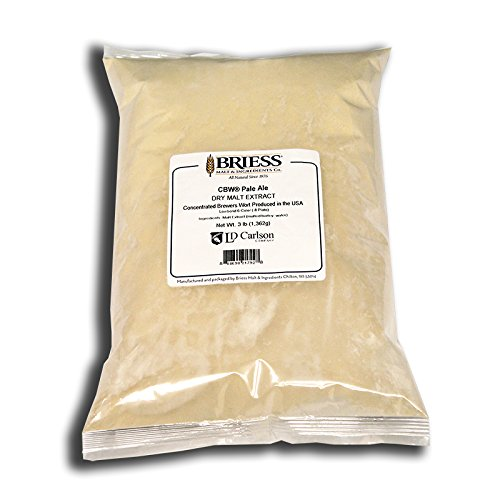 Dry Pale Beer - Briess CBW - Dry Malt Extract - Pale Ale - For Home Brewing & Beer Making (3 LB)