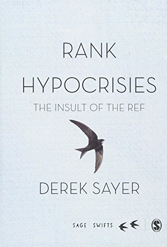 Rank Hypocrisies: The Insult of the REF (SAGE Swifts)