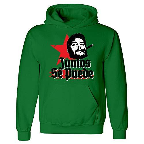Guevara Face Che - Che Guevara Juntos Se Puede Quote Together Strong - Hoodie